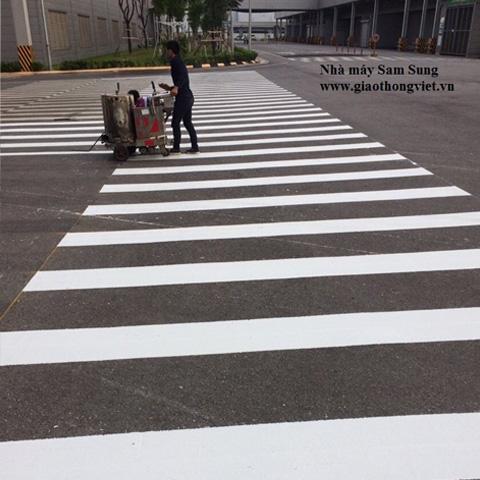 Sơn giao thông, sơn vạch kẻ đường